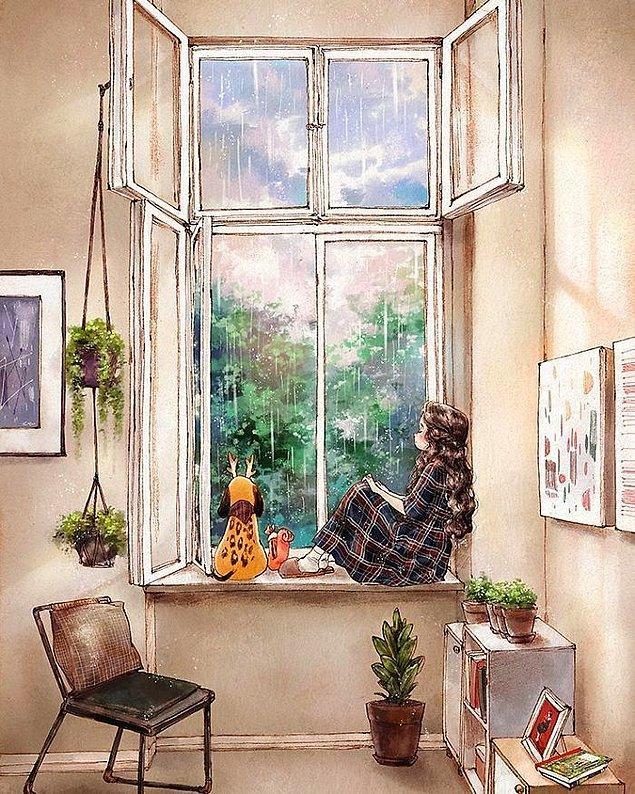 5. İçimizi huzurla dolduran bu çizimlerin ilham kaynağıysa...