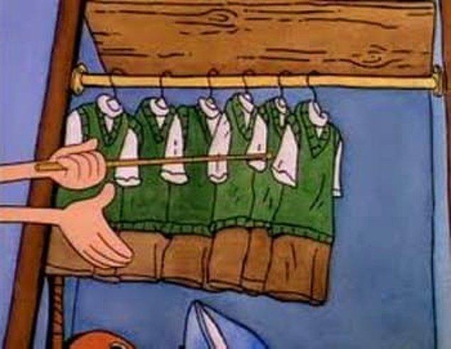 10. Kimse fark etmeden her gün aynı kıyafetleri giyebilirsiniz.