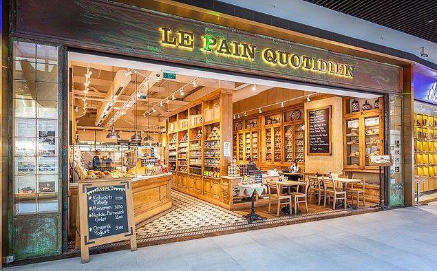 3. Organik ekmekleriyle bir dünya markası: Le Pain Quotidien