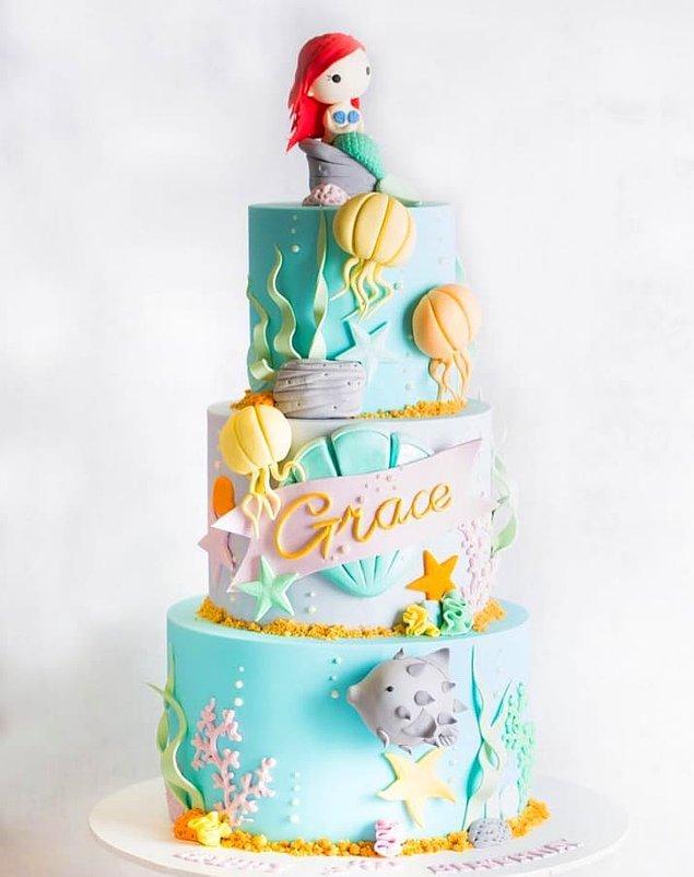 Bu pastadaki Ariel ise resmen başyapıt!