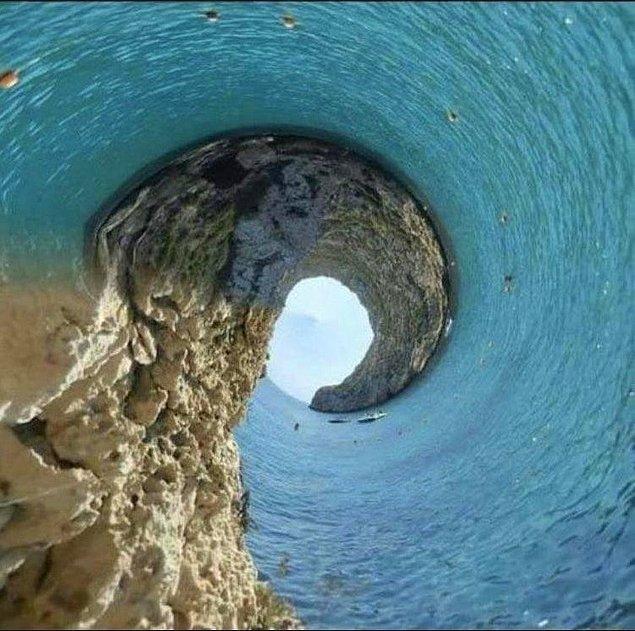 14. Panoramik fotoğraf çekerken telefon elden kayarsa...