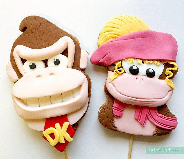 5. Donkey Kong & Candy Kong