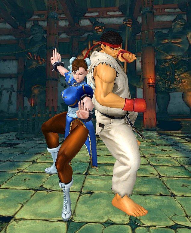 14. Ryu & Chun Li