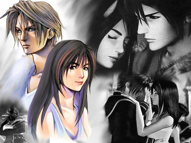 17. Squall & Rinoa