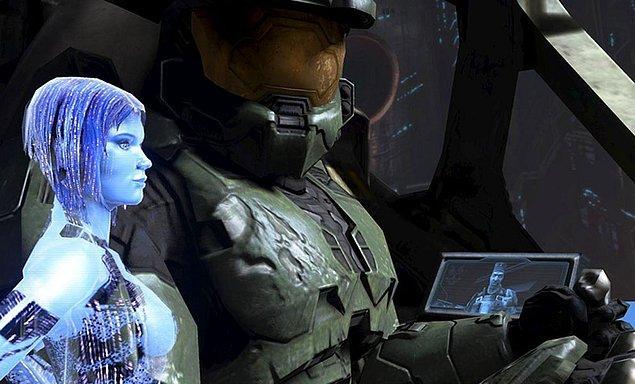 20. Master Chief & Cortana