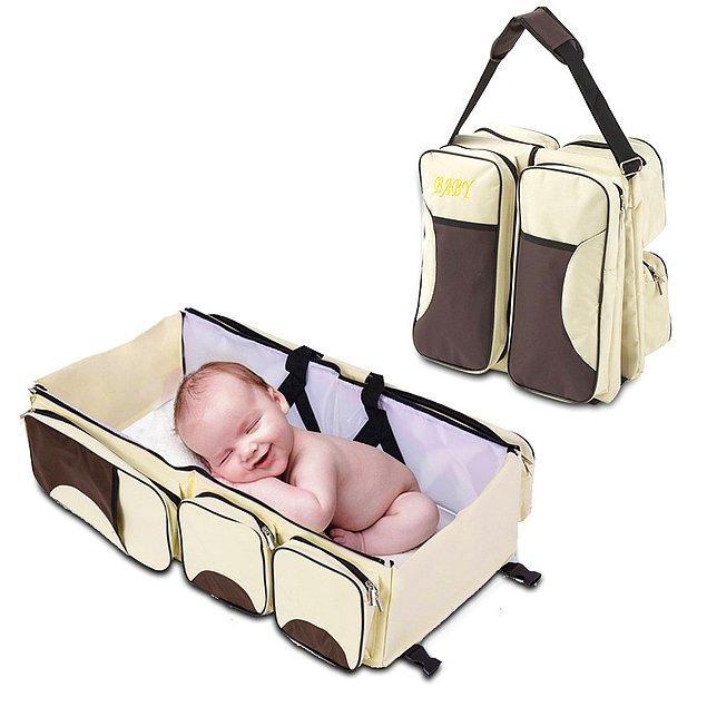 8. Bebekle tatil korkutucu mu? Siz öyle sanıyorsunuz 🤗 Çünkü büyük ihtimalle bu bebek istasyonunu duymamıştınız