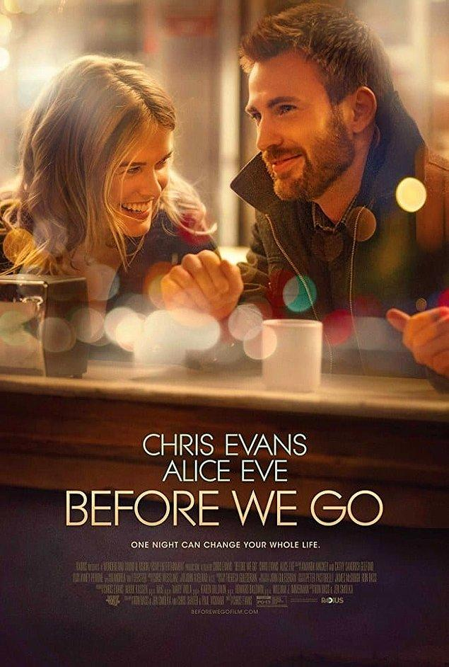 15. Before We Go (2014)