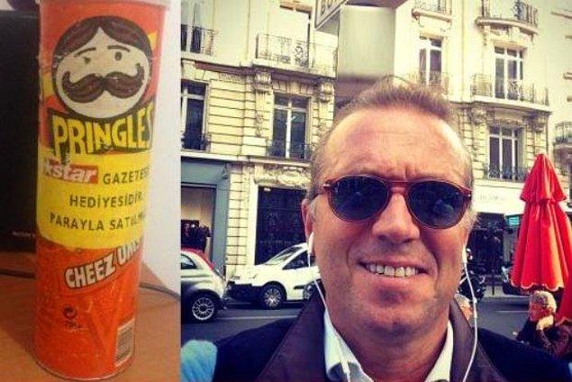 20. Cem Uzan ve Pringles