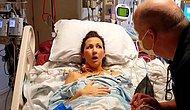 Akciğer Nakli Sonrası İlk Defa Nefes Alan Kadının O Anları