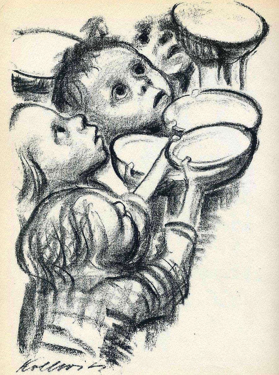 I. Dünya Savaşı'nda Oğlunu, II. Dünya Savaşı'nda Torununu Kaybetmiş Izdırap  Dolu Bir Yürek: Käthe Kollwitz - onedio.com