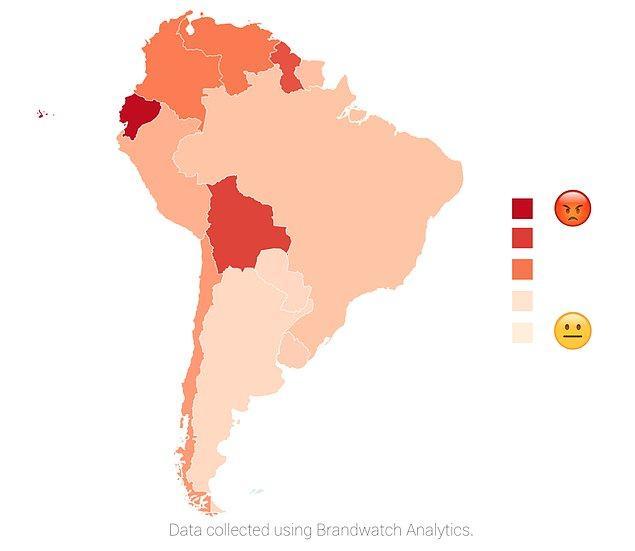 Güney Amerika 🌎