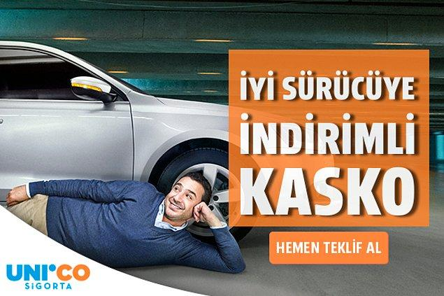 Unico Sigorta'dan iyi sürücüye indirimli kasko dönemi başlıyor! Üstelik ilk 3 ay sadece 9 TL ödeme fırsatıyla!