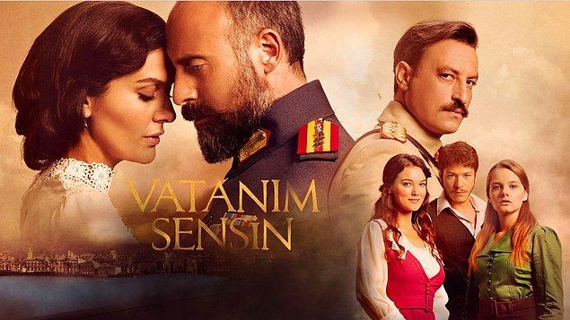 AB'de ise Halit Ergenç'in muhteşem oyunculuğu, canımız #HiLeon ve her şeyiyle Vatanım Sensin lider. Hak ediyor mu? Hem de nasıl...