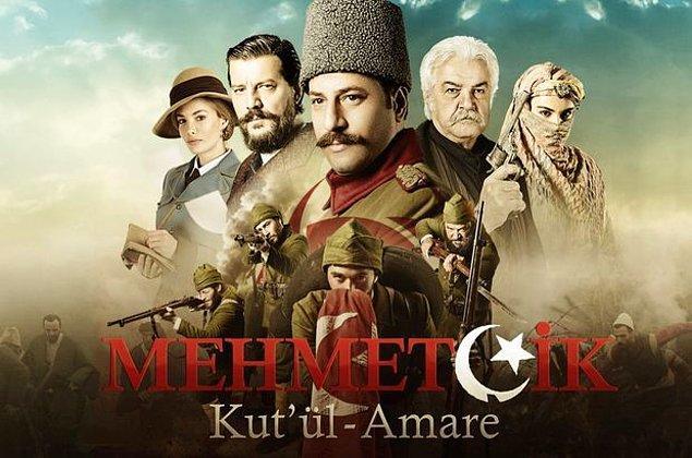 TRT Diriliş Ertuğrul'un rüzgarına kapılıp benzer bir dizi daha yaptı: Mehmetçik Kut'ul-Amare. Başta merak edilip izlendi ama şu sıralar çok ortalama reytingler alıyor. Yine de ekranda yaşayabilecek kadar.
