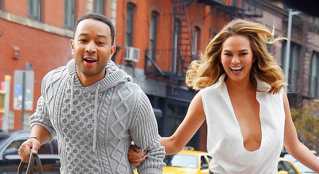 John Legend & Chrissy Teigen çıktınız!