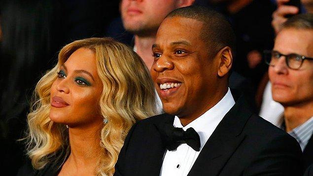Beyonce & Jay-Z çıktınız!