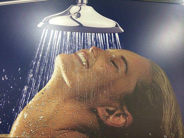 3. Harika! Boyun kırıklarında çok işe yarayan duş! 😂