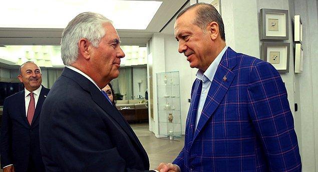 Tillerson, göreve başlamasından bu yana geçen bir yıllık süre zarfında Türkiye'ye üçüncü ziyaretini gerçekleştirmiş oldu.