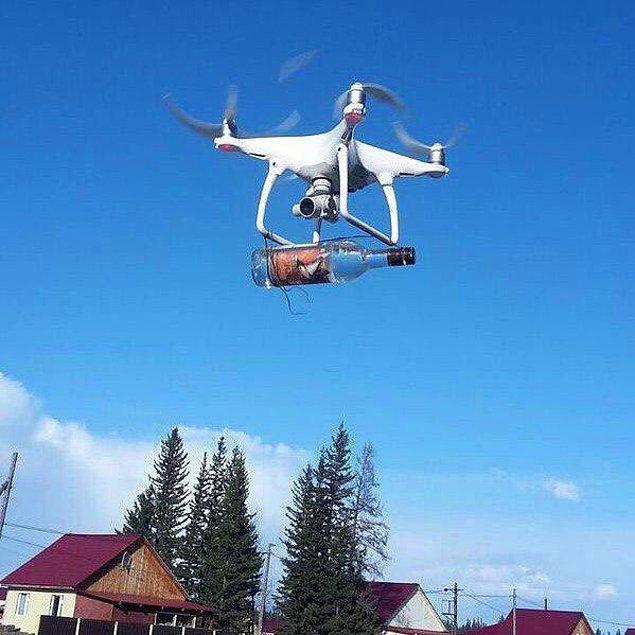 9. Drone'un en akılcı kullanımı