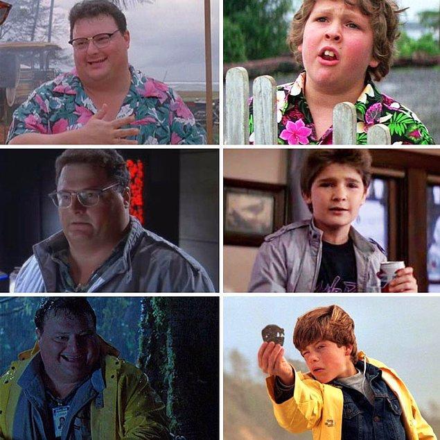 24. Jurassic Park ve Define Adası filminde benzer kostümler vardır. Her iki filmin de yapımcısı Kathleen Kennedy olması bir tesadüf değil.