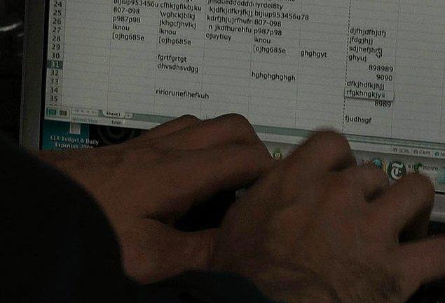 26. Akılalmaz filminde nükleer bombayı Microsoft Excel kullanarak devre dışı bırakmaya çalışan kahraman!