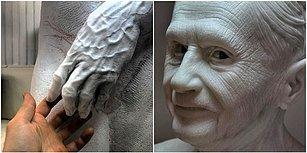 Michelangelo Olmayı Kafasına Koymuş Heykeltıraşın Muazzam Detaylarla Dolu, Gerçekçi Heykelleri!