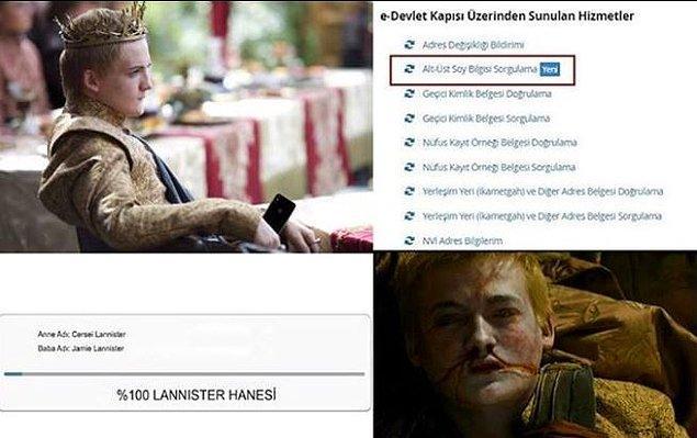 4. Joffrey'nin gerçek ölüm sebebi.
