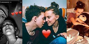 Genç Aşıklar! Stranger Things'in Biricik Yıldızı Millie Bobby Brown'un Jacob Sartorius'la Tatlış İlişkisi