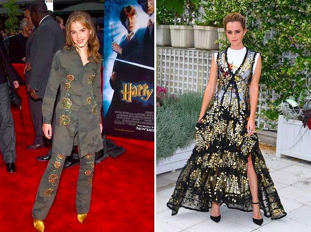 2. Emma Watson her daim genç...