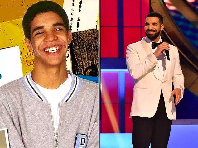 12. Drake gülümsemesi diye bir gerçek var. 😬
