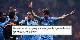 Konya'da Hakem Kararları Maça Damga Vurdu! Konyaspor - Beşiktaş Maçının Ardından Yaşananlar ve Tepkiler