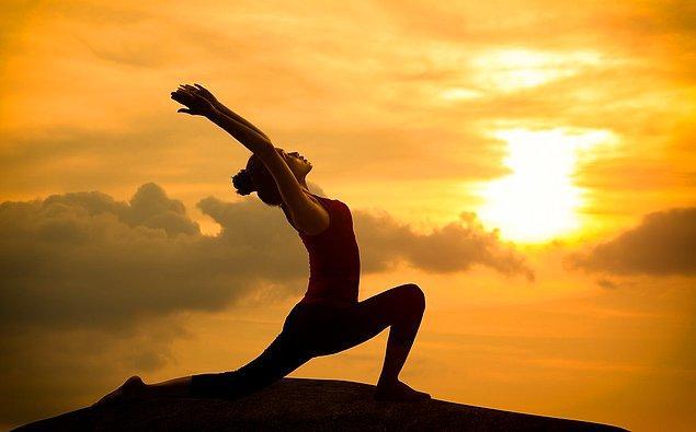 8. Yoga mükemmel bir seçim.