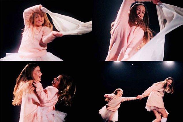 Bu bölümün daha ilk sahnesinde ise Duru'yu çocukluğu ile dans ederken gördük. Bir kez daha anladık ki bu kız dünyaya gerçekten dans etmek için gelmiş.