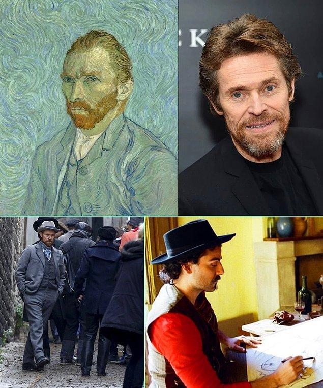 """14. Willem Dafoe'nun Van Gogh'u canlandırdığı biyografi filmi """"At Eternity's Gate""""in çekimleri tamamlandı."""