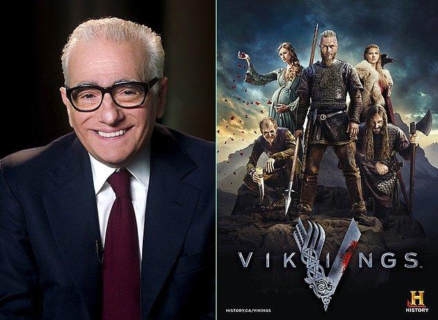 13. Martin Scorsese ile Vikings'in yaratıcısı ortak bir projede buluşuyorlar. Roma İmparatorluğu'nu anlatacak bir dizi çekecekler.