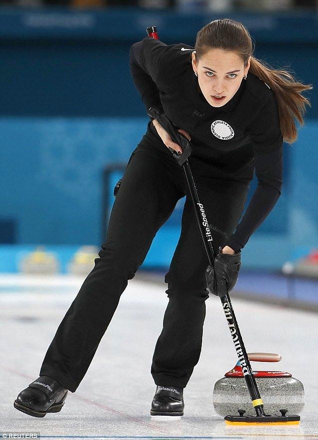 güzelliğiyle Kış Olimpiyatları'nı izleyenleri kendine hayran bıraktı.