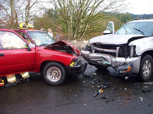 Trafik kazasında