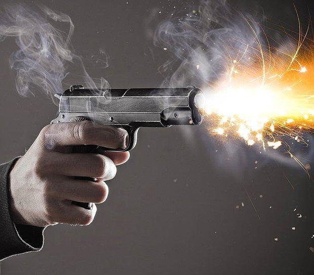 Silahla vurularak