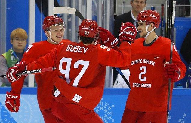 5. Rusya (Rusya'dan Olimpik Atletler Takımı)
