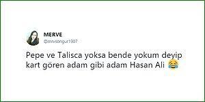 Hasan Ali Kaldırım'ın Beşiktaş Derbisinde Cezalı Duruma Düşmesini Goygoya 15 Vuran Kişi