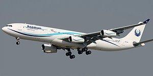 İran'da 66 Kişiyi Taşıyan Yolcu Uçağı Düştü, Sis Nedeniyle Enkaza Ulaşılamıyor