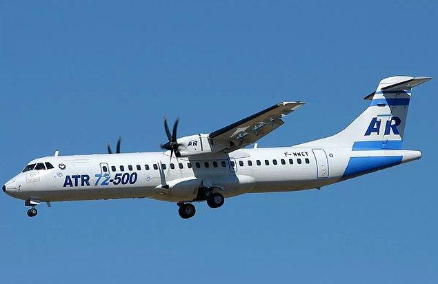 Uçağın, Fransız-İtalyan uçak üreticisi olan ATR tarafından yapılan çift motorlu, kısa mesafeli, ATR 72- 500 tipi olduğu öğrenildi.