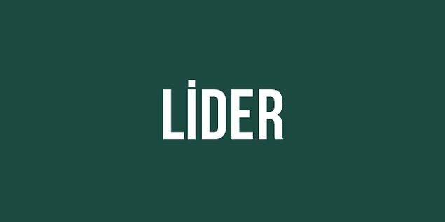 Lider!
