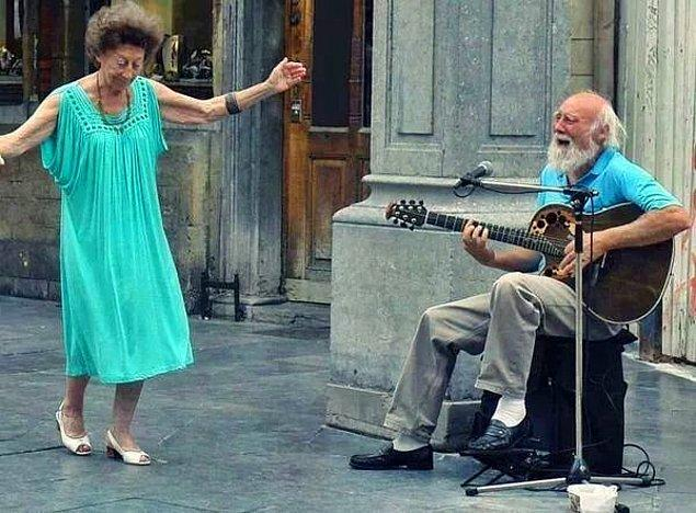 93 yaşında İstanbul'da!