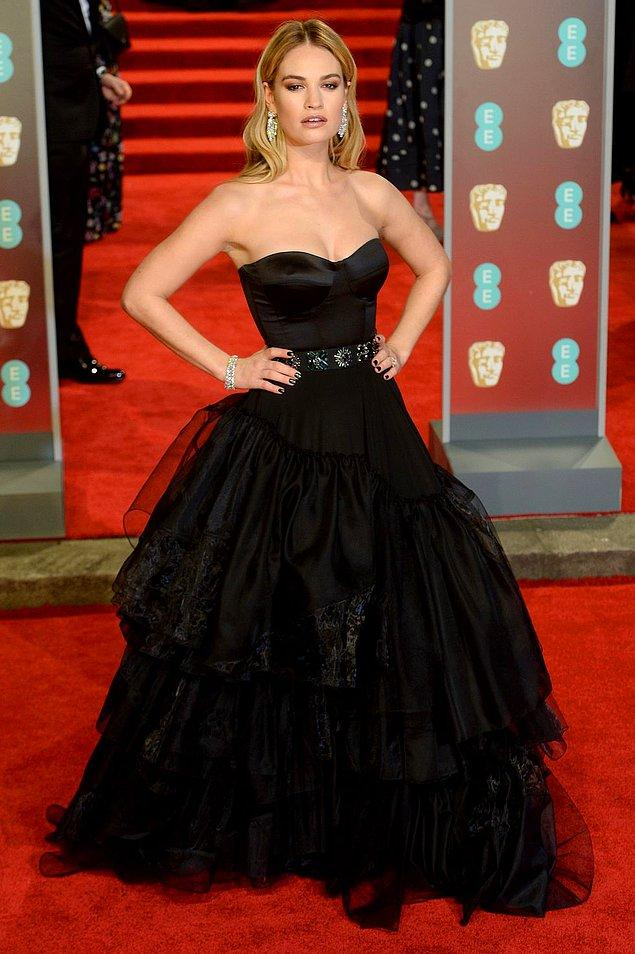 9. Lily James