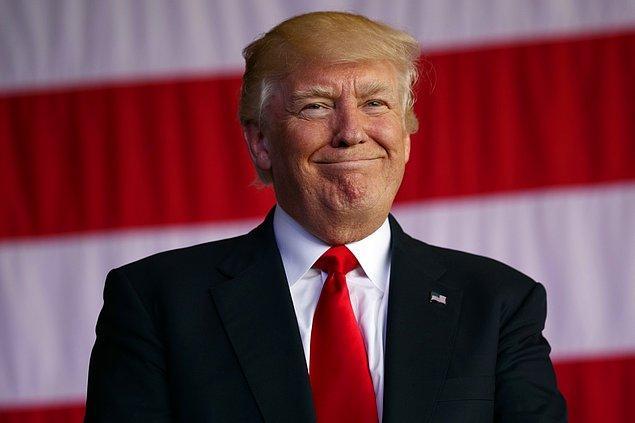 7. Donald Trump - Şişe Toplayıcı