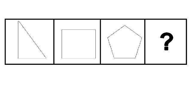 6. ? yerine hangi geometrik şekil gelmelidir?
