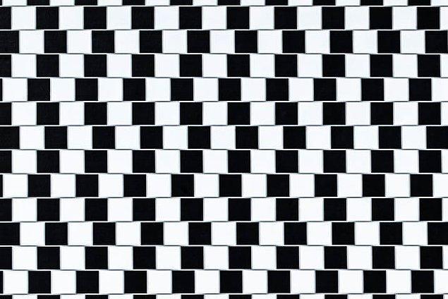 3. Bu çizgiler yana yatık değil.