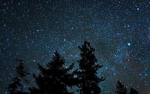 16. Gökyüzündeki yıldızlar: