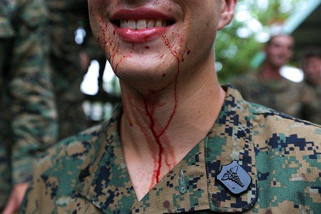 Askerler için oldukça yoğun ve zorlu bir imtihan!